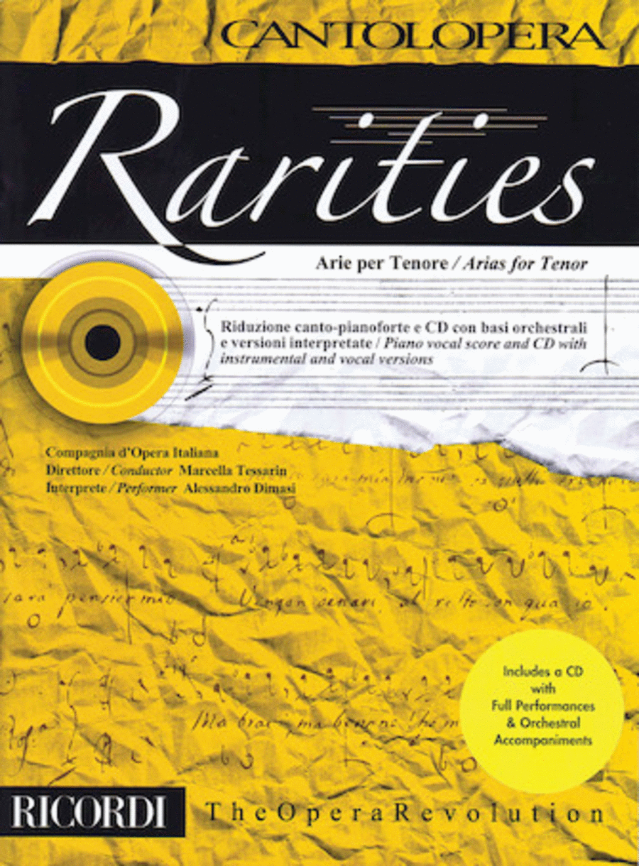 Rarities: Arias for Tenor