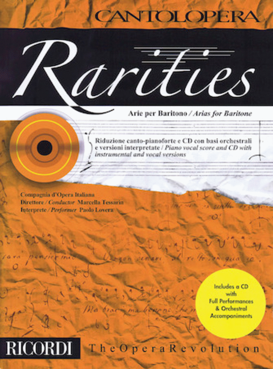 Rarities: Arias for Baritone