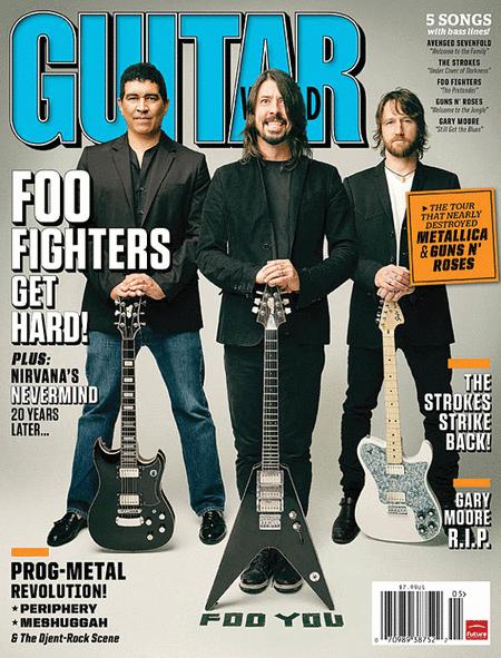 Guitar World Magazine Back Issue - May 2011