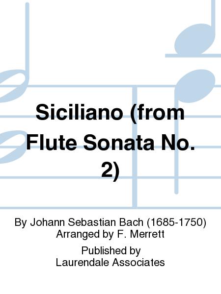 Siciliano (from Flute Sonata No. 2)