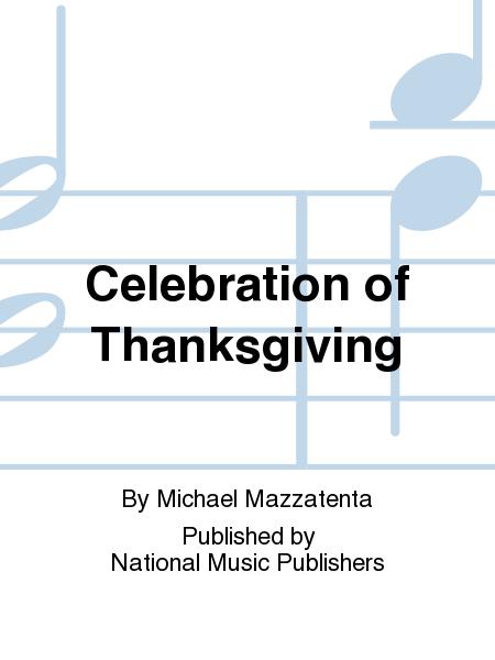 Celebration of Thanksgiving