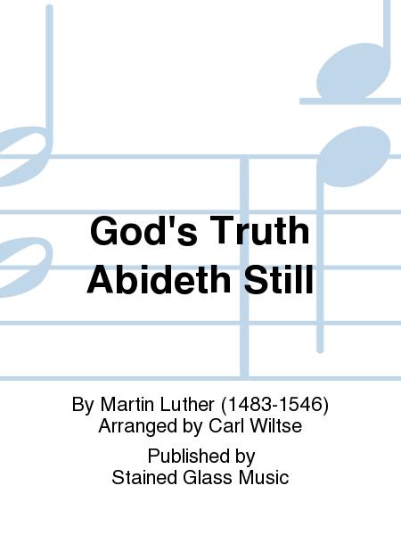 God's Truth Abideth Still