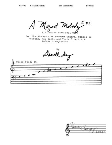 A Mozart Melody
