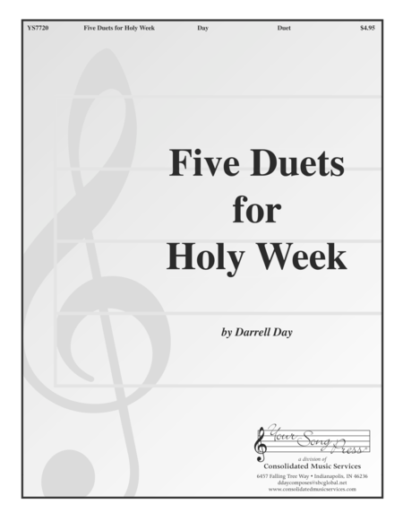 Five Duets for Holy Week