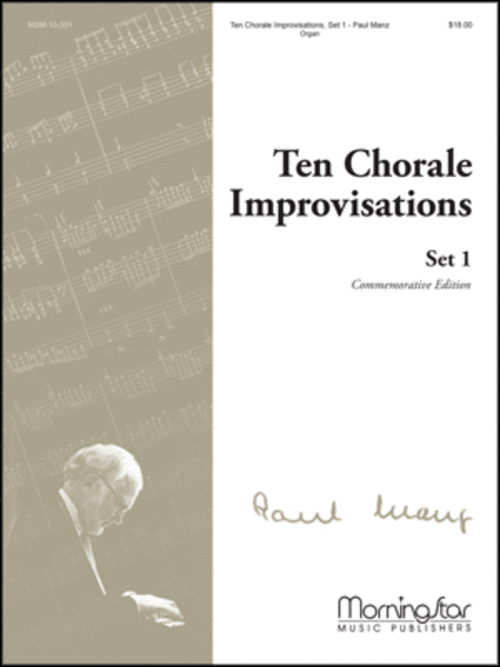 Ten Chorale Improvisations, Set 1