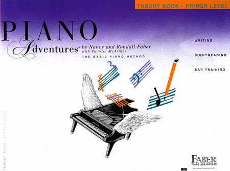 Piano Adventures Primer Level - Theory Book (Original Edition)
