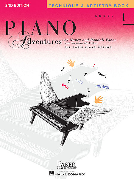 Piano Adventures Level 1 - Technique & Artistry Book (Original Edition)