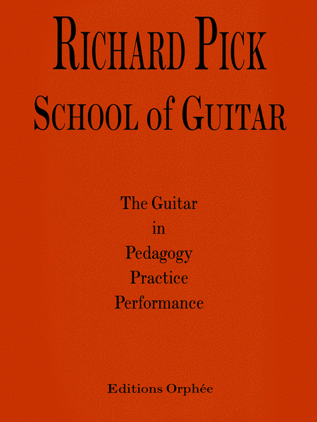 Richard Pick: School of Guitar
