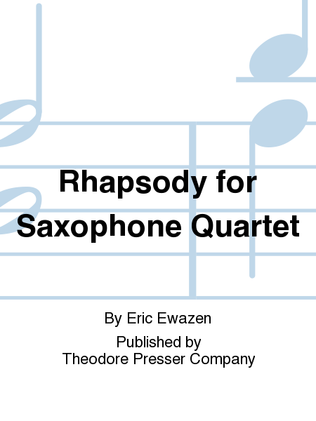 Rhapsody for Saxophone Quartet