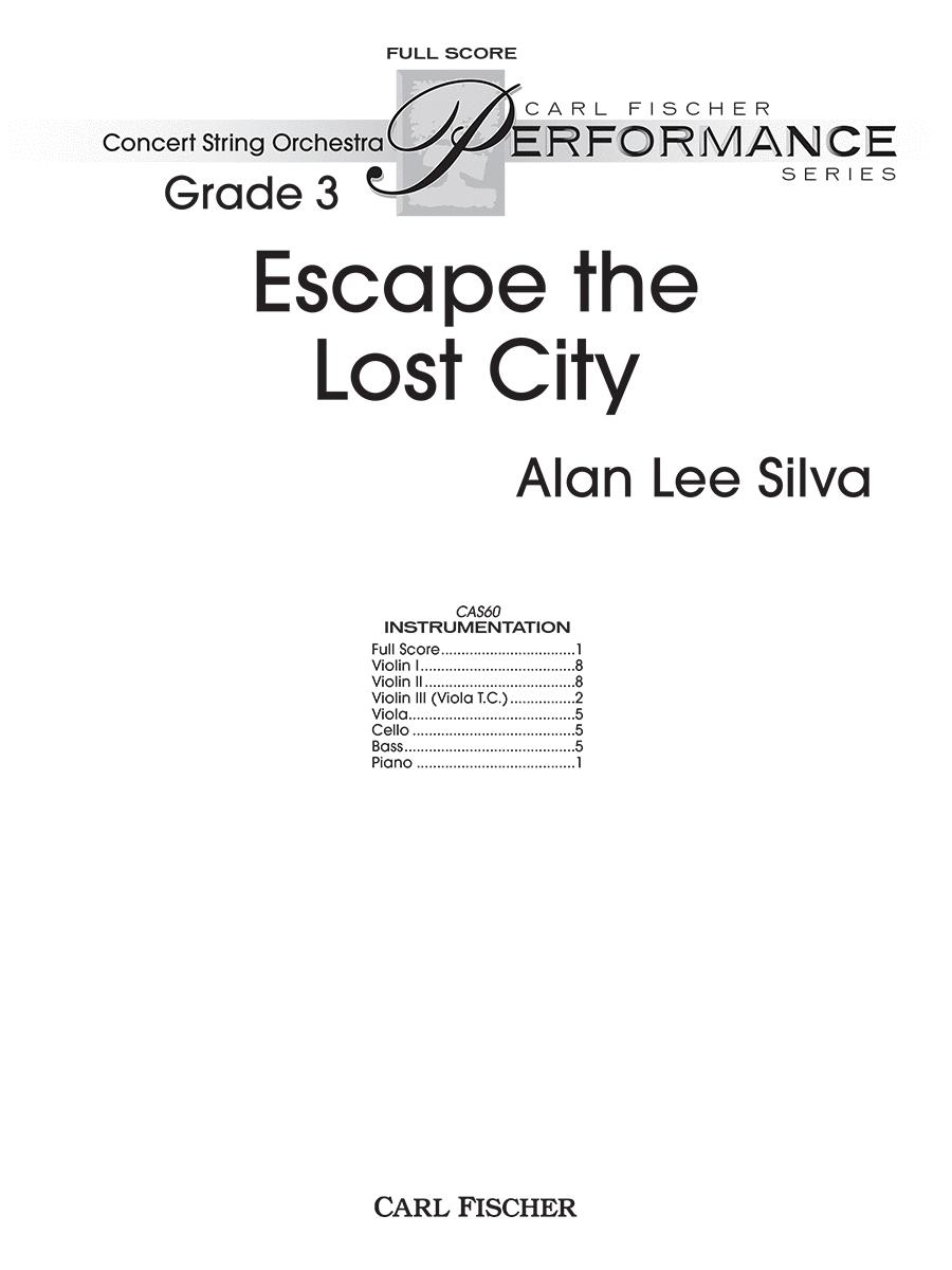 Escape the Lost City