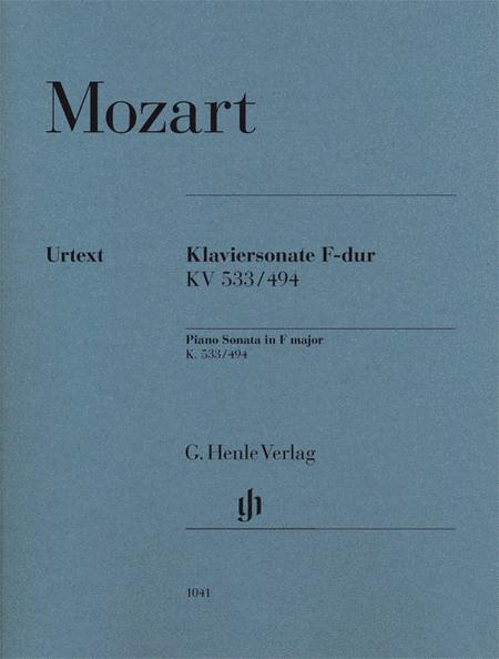 Piano Sonata in F Major K533/494