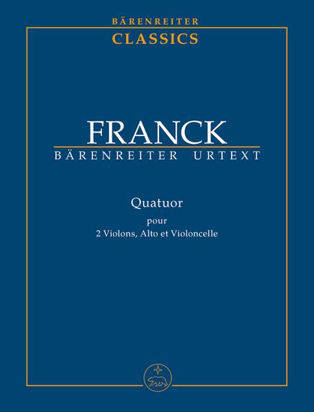 Quatuor for two Violins, Viola and Violoncello
