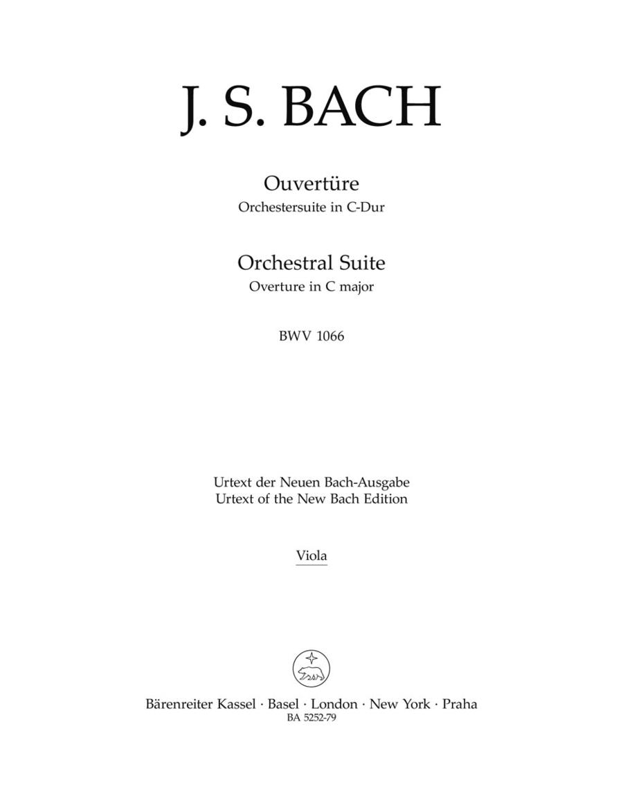 Ouverture (Orchestersuite) C major BWV 1066