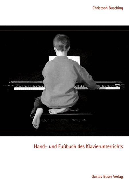 Hand- und Fussbuch des Klavierunterrichts