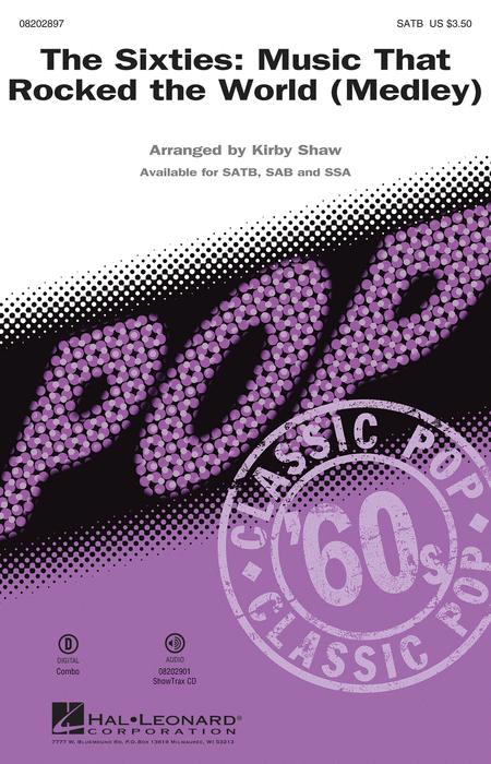 The Sixties: Music that Rocked the World - ShowTrax CD