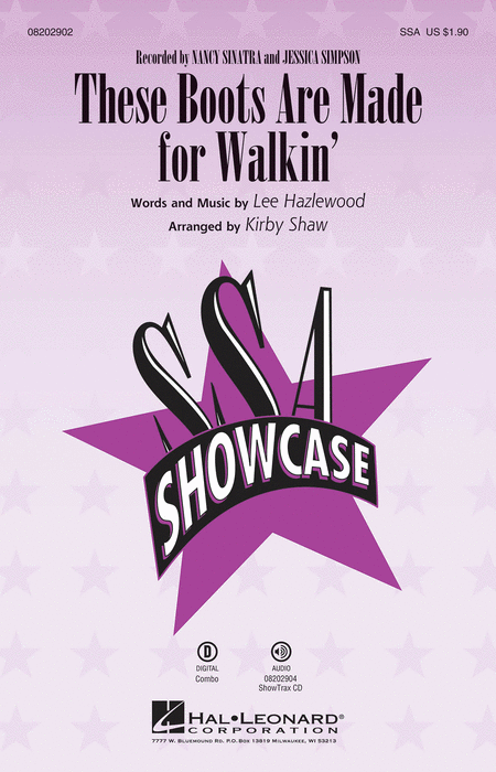 These Boots Are Made for Walkin' - ShowTrax CD