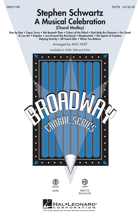 Stephen Schwartz - A Musical Celebration - ShowTrax CD