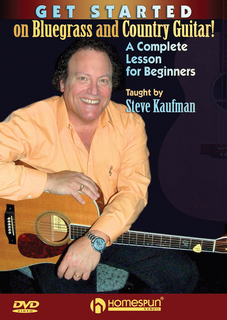 Get Started on Bluegrass and Country Guitar!