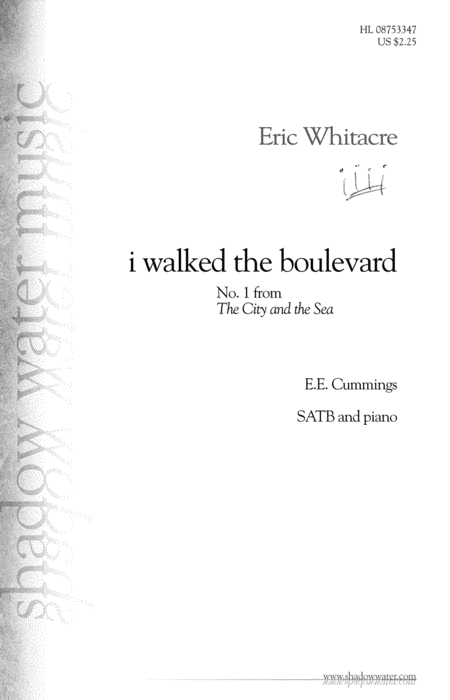i walked the boulevard