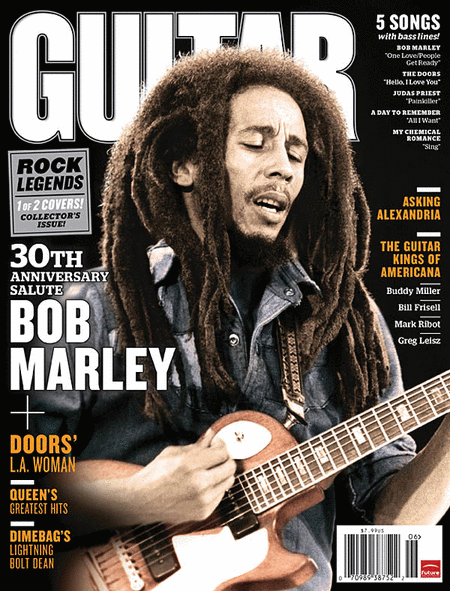 Guitar World Magazine Back Issue - June 2011