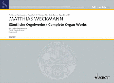 Complete Organ Works - Part 1: Chorale Settings