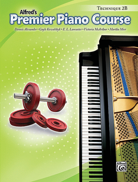 Premier Piano Course Technique, Book 2B