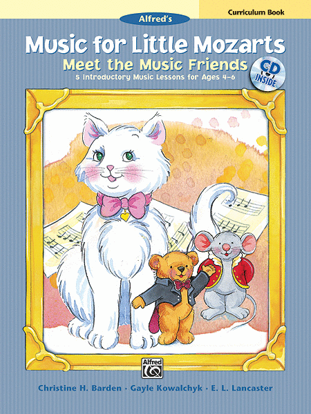 Music for Little Mozarts Meet the Music Friends
