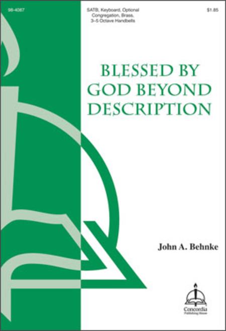 Blessed by God Beyond Description