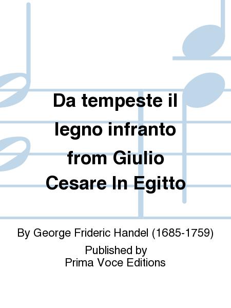 Da tempeste il legno infranto from Giulio Cesare In Egitto