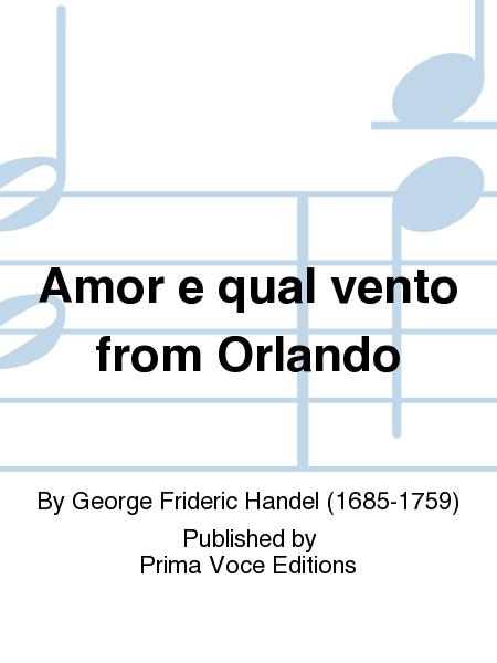 Amor e qual vento from Orlando