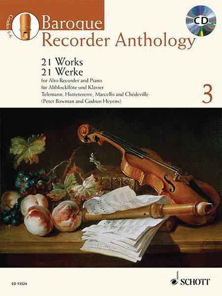 Baroque Recorder Anthology - Volume 3