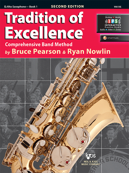Tradition of Excellence Book 1 - Eb Alto Saxophone