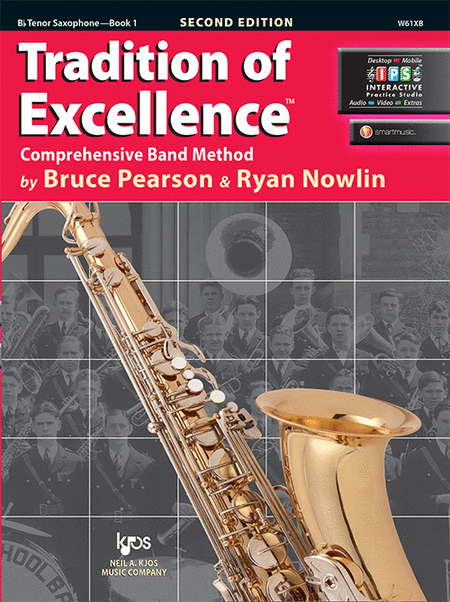 Tradition of Excellence Book 1 - Bb Tenor Saxophone