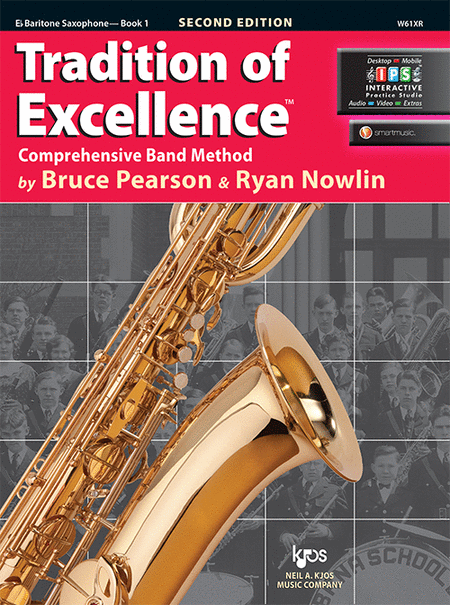 Tradition of Excellence Book 1 - Eb Baritone Saxophone
