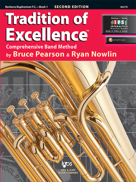 Tradition of Excellence Book 1 - Baritone/Euphonium T.C.
