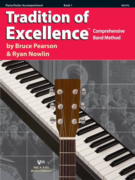 Tradition of Excellence Book 1 - Piano/Guitar Accompaniment