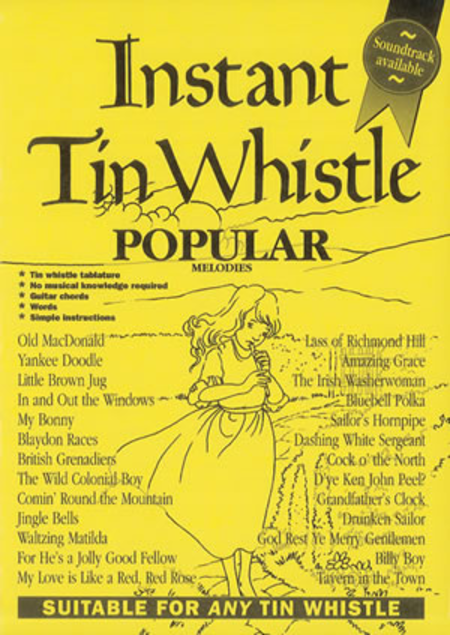 Instant Tin Whistle - Popular Melodies