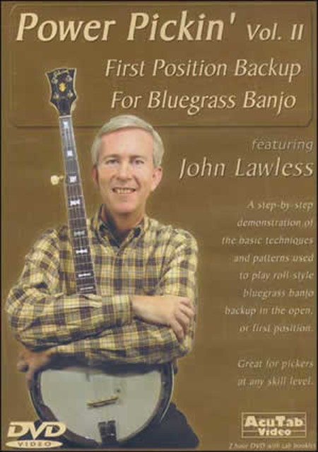 Power Pickin' Vol. 2: First Position Backup for Bluegrass Banjo