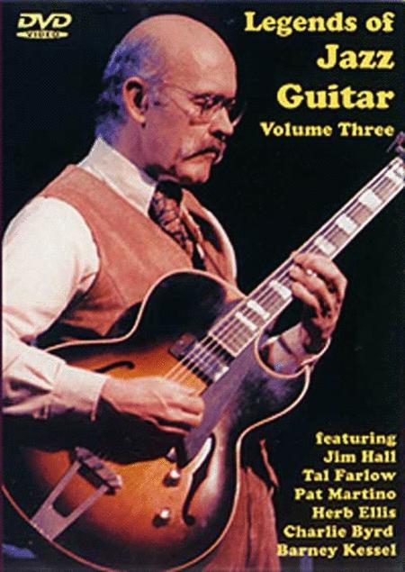 Legends of Jazz Guitar Volume 3