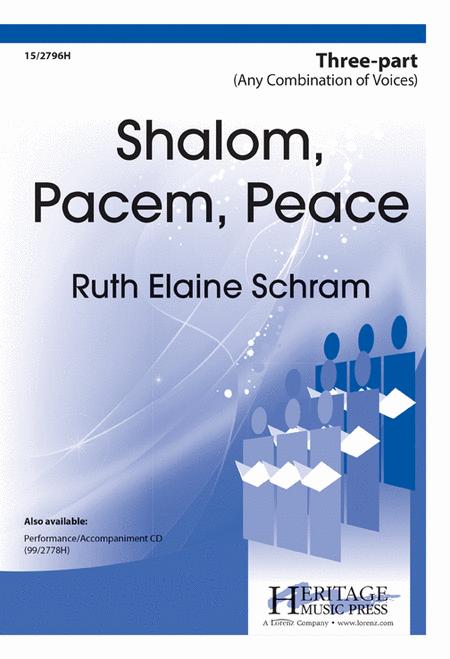 Shalom, Pacem, Peace