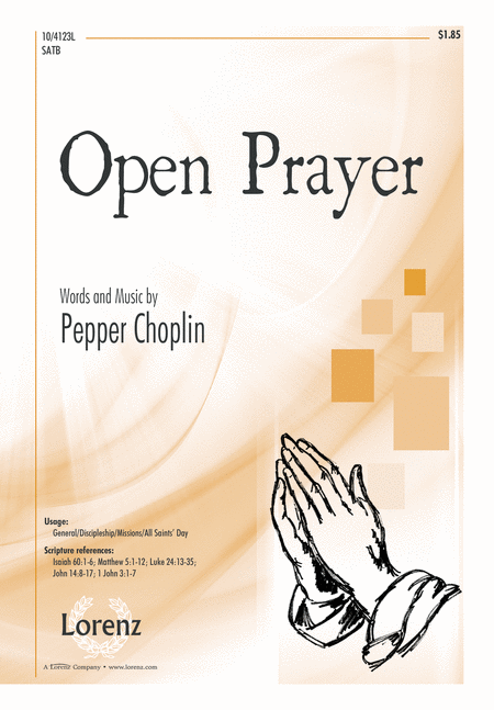 Open Prayer