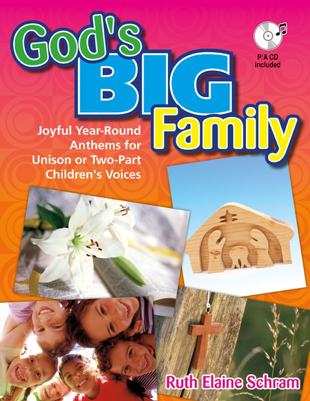 God's Big Family - Songbook with Performance/Accompaniment CD