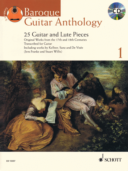 Baroque Guitar Anthology  - Volume 1