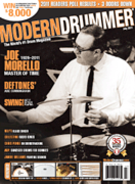 Modern Drummer Magazine - July 2011