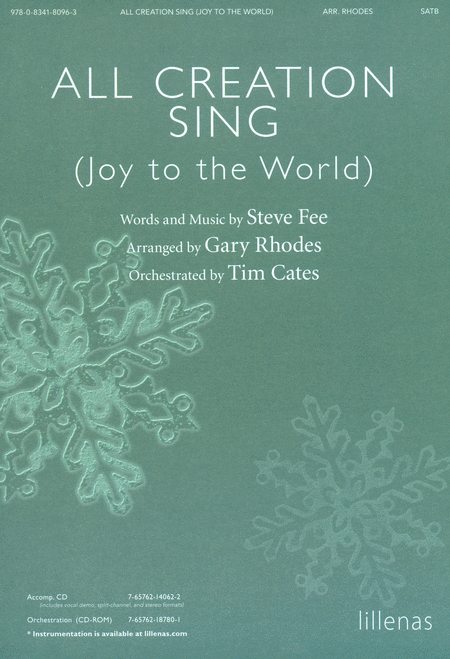 All Creation Sing (Joy to the World) (Anthem)