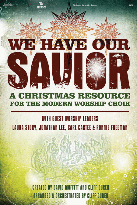 We Have Our Savior Audio Wav Files DVD-ROM (Strings/Praise Band)