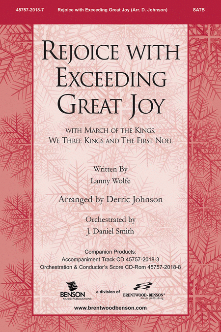 Rejoice With Exceeding Great Joy (Orchestra Parts and Conductor's Score, CD-ROM)