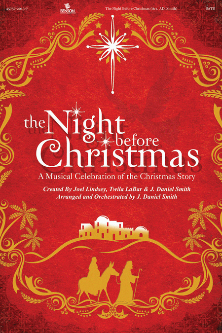 The Night Before Christmas (Choral Book)