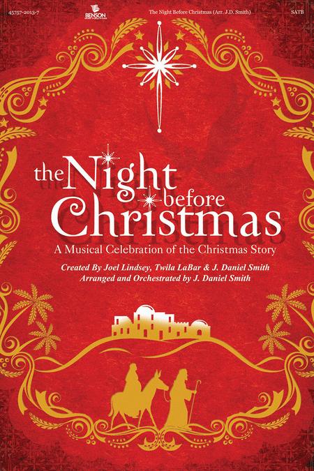 The Night Before Christmas (Split Track Accompaniment CD)