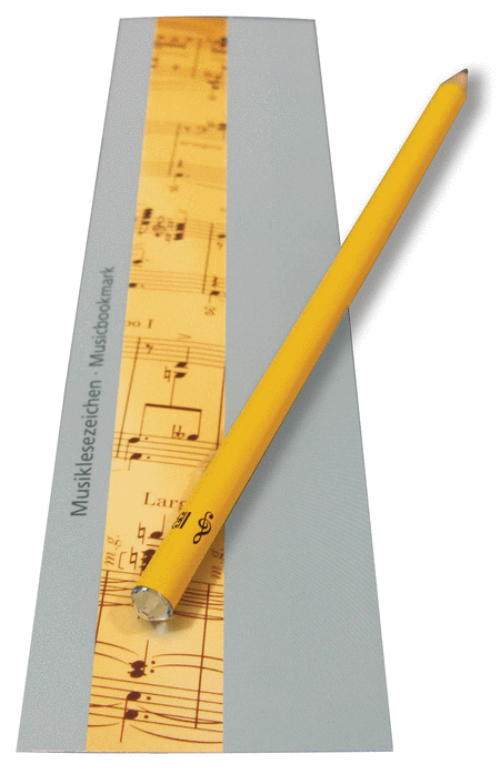 Henle Music Bookmark with Swarovski Crystal Pencil